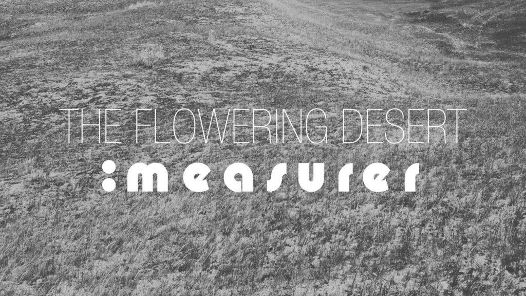 The Flowering Desert character study 1 - The Measurer. Soprano and librettist.